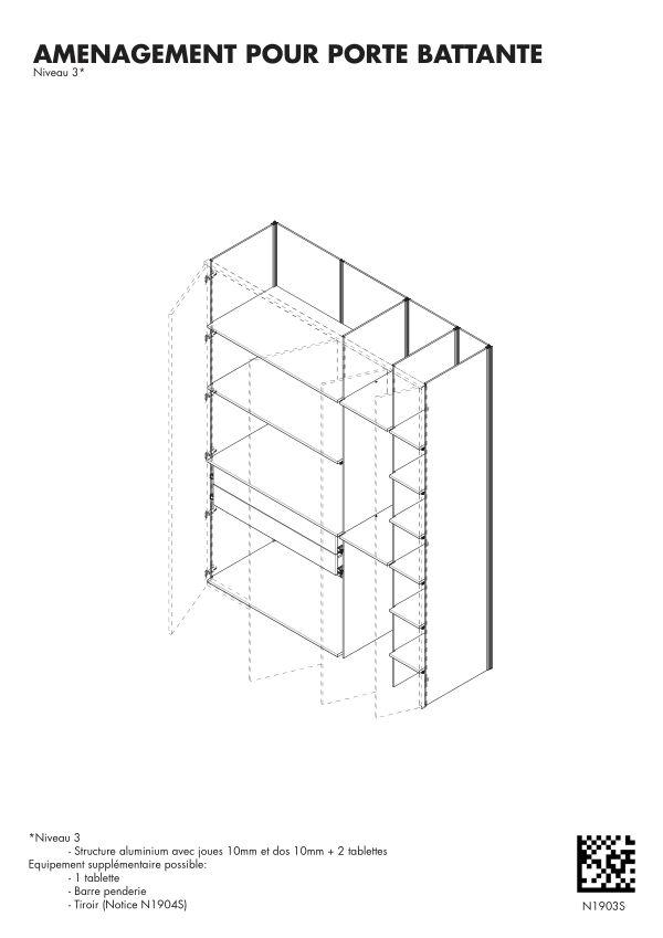 Notice de montage Sogal Aménagement Muranova Niveau 3