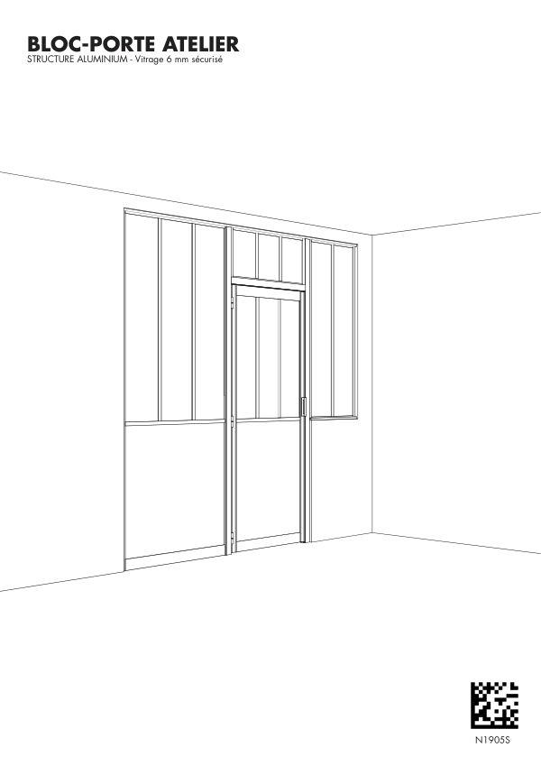 Notice de montage Sogal Bloc-porte Atelier