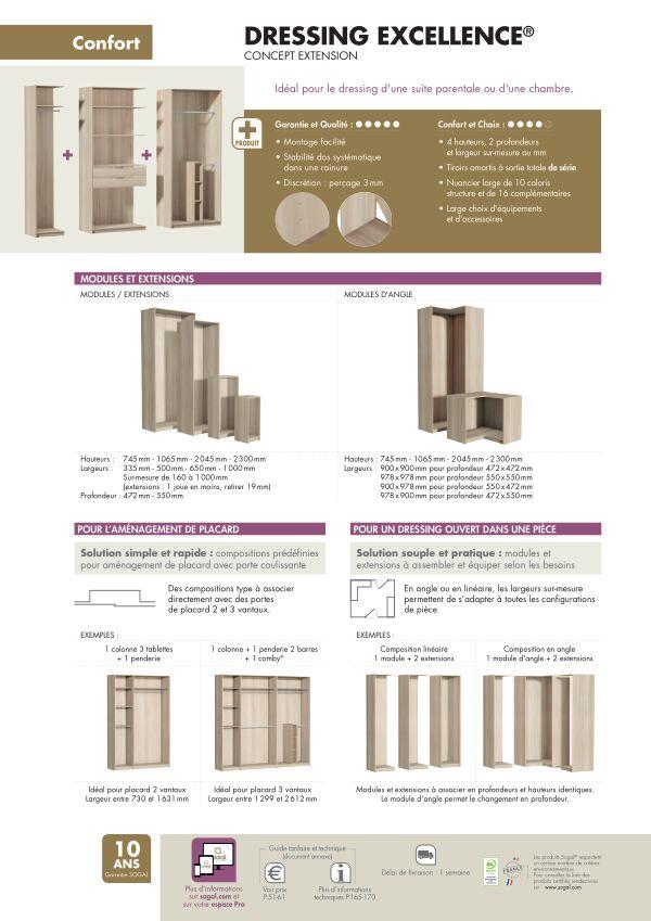 Page modèle Sogal Aménagement Excellence®