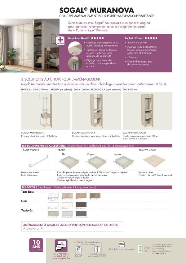 Page modèle Sogal Aménagement Sogal® Muranova