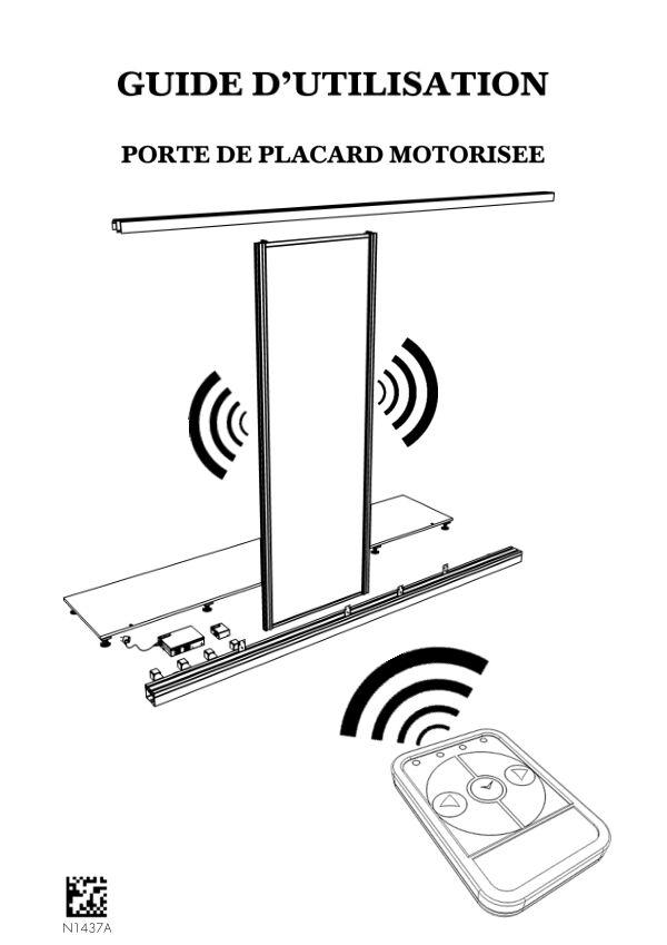 Guide utilisation Sogal placard coulissant motorisée