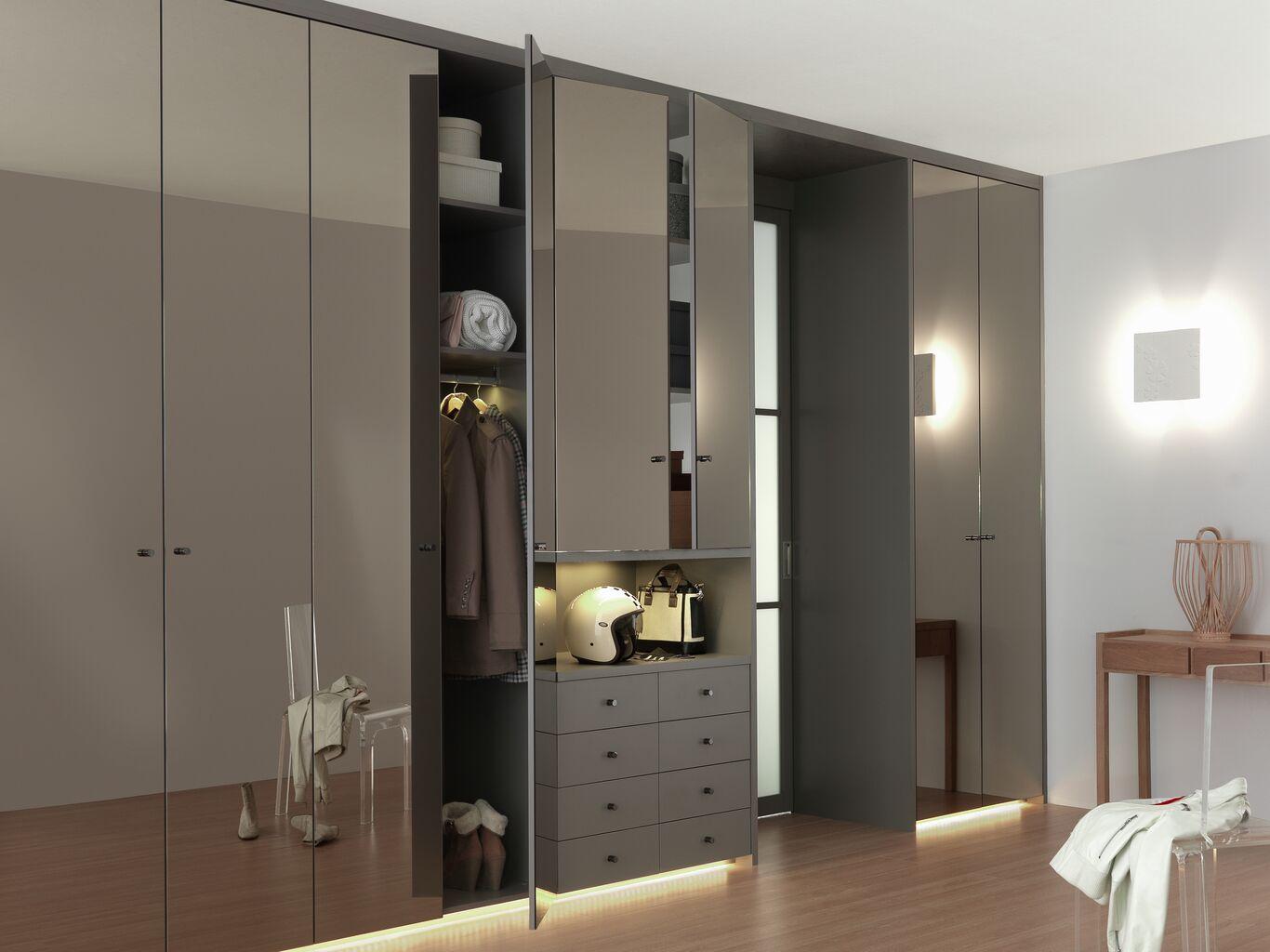 armoire dressing sur mesure autour porte