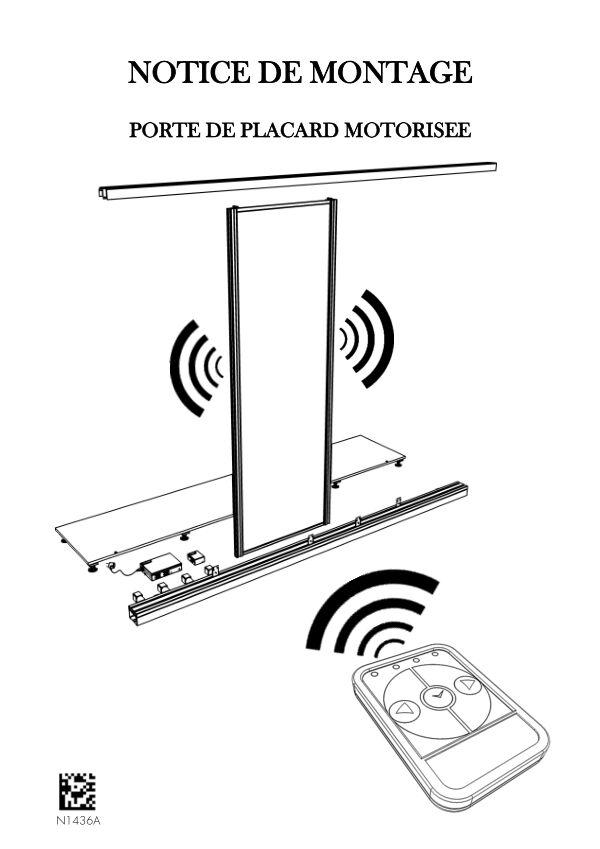 Notice de montage Sogal placard coulissant Motorisée
