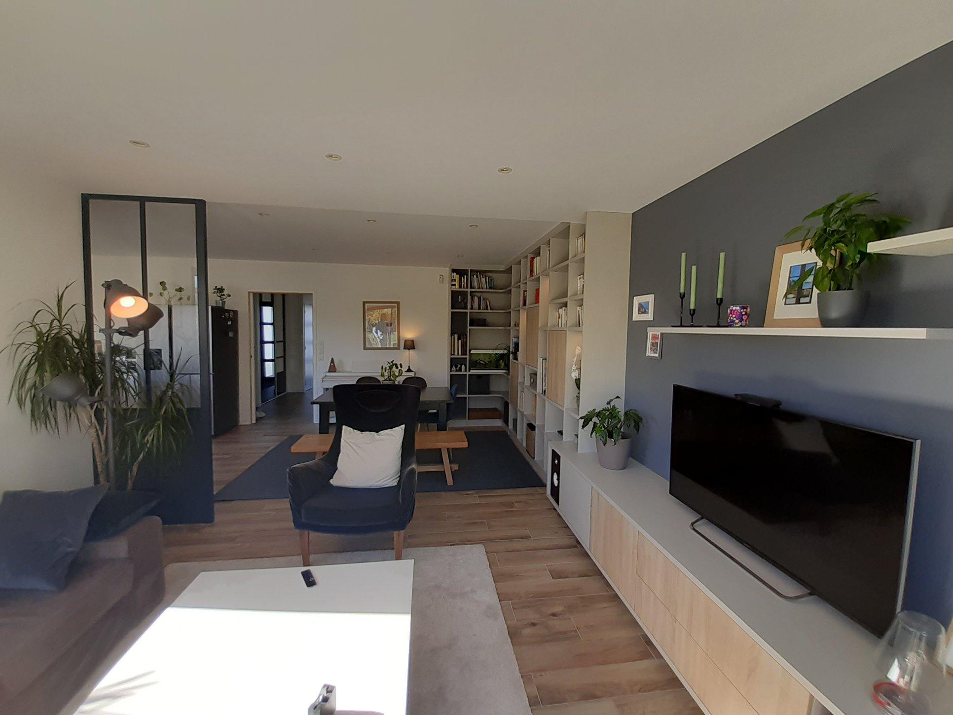 meuble tv et armoire salon sur mesure