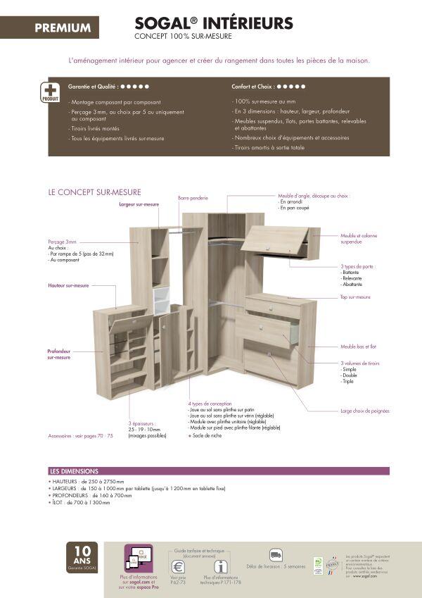 Page modèle Sogal Aménagement Sogal® Intérieurs
