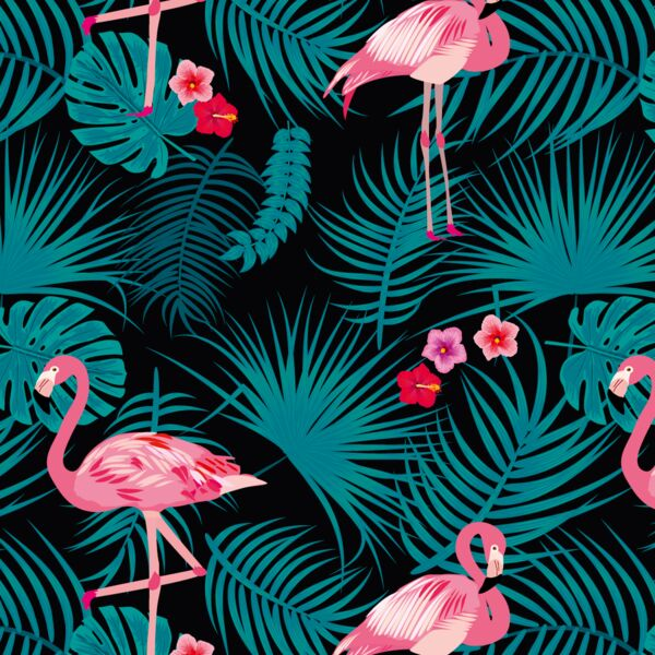 porte pixo décor flamingo