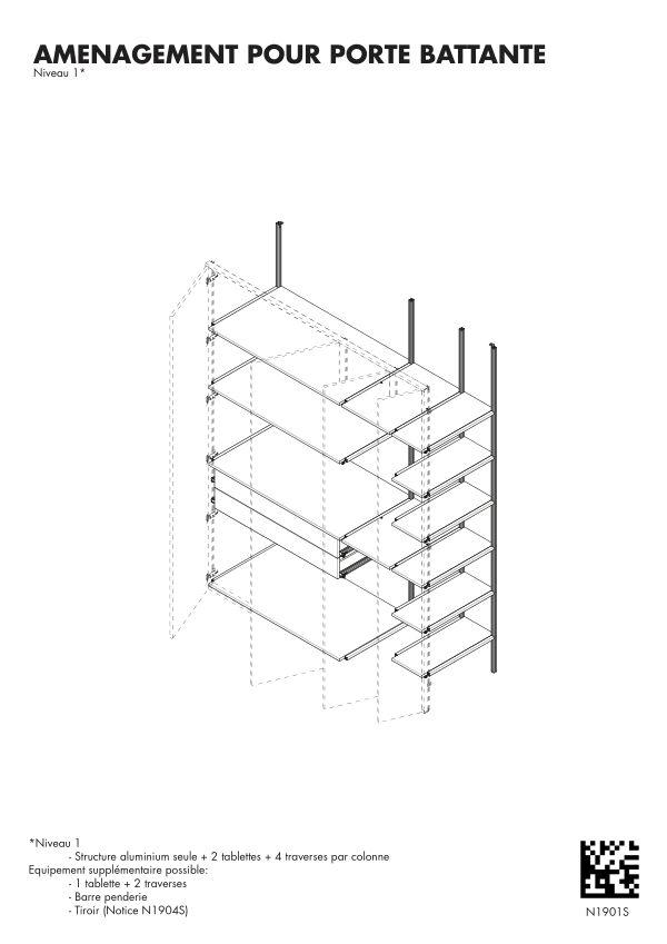 Notice de montage Sogal Aménagement Muranova Niveau 1