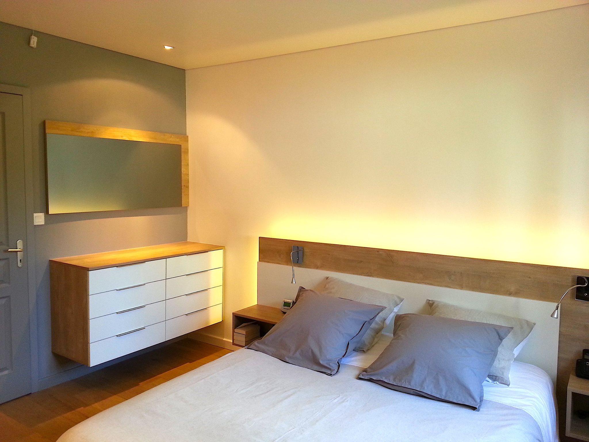commode chambre tête de lit sur mesure