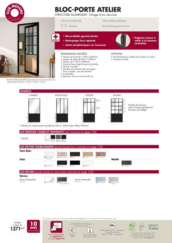 Bloc-porte Atelier Sur-mesure