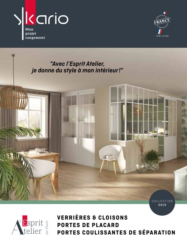 Catalogue Ykario Esprit Atelier