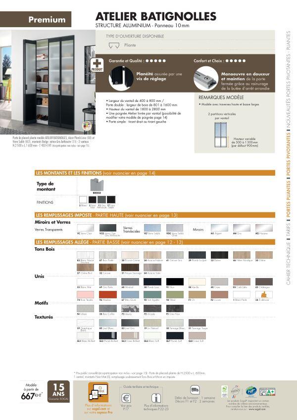 Page modèle Sogal Placard pliant Atelier Batignolles