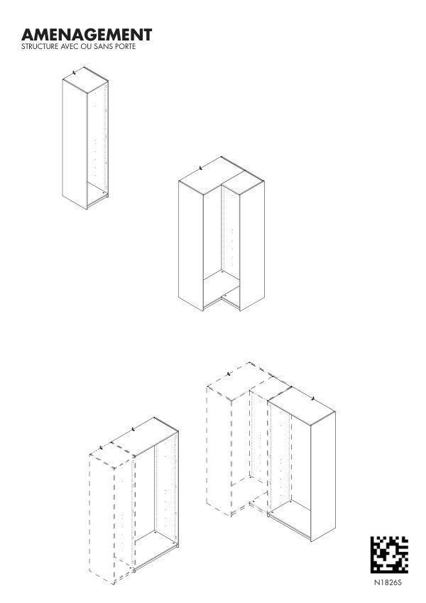 Structure de meuble Créativ'
