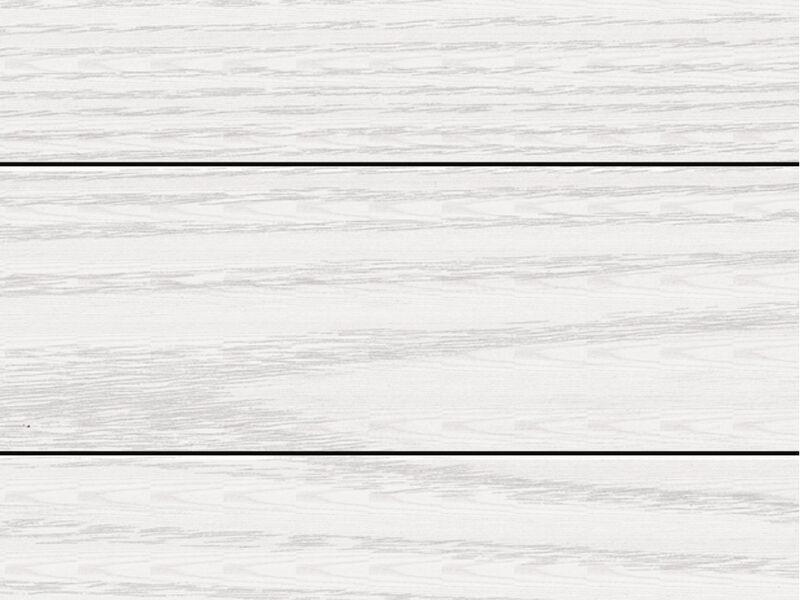 Lambrissée Blanc nacré structuré